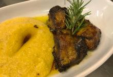 polenta-carne